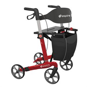 aspire vogue carbon seat walker rollator